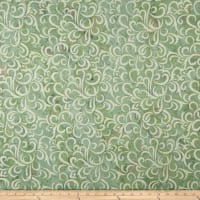 Maywood Studio Coastal Chic Batiks Swirls Green/Cream