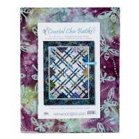 "Maywood Studio Coastal Chic Batiks 52"" x 65"" Quilt Kit Multi"