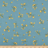 Maywood Studio English Countryside Spaced Buds Blue