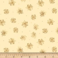 Maywood Studio English Countryside Queen Anne's Lace Soft Yellow