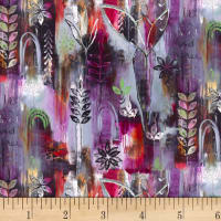 P&B Textiles Enchanted Leaves Multi