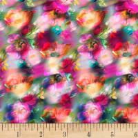 P&B Textiles Off The Grid Fantasy Floral Multi