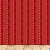 P&B-WSS Temperance Reds Stripe Red
