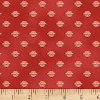 P&B-WSS Temperance Reds Geo Red