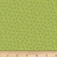 P&B Textiles Forest Fancies Tic Tack Green