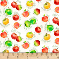 P&B Textiles Fresh Picked FarmStand Apples Multi