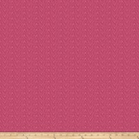 Fabricut Cates Chevron Chenille Bubble Gum
