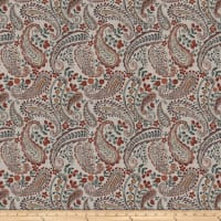 Fabricut Freehand Paisley Autumn Spice
