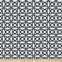 Fabricut Tension Lattice Chenille Navy