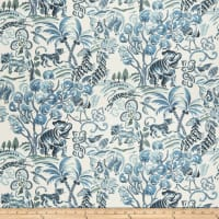 Fabricut Tropic Animals Blue