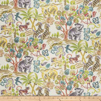 Fabricut Tropic Animals Rain Forest