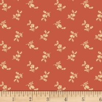 P&B Vintage Prestige Spaced Flowers Salmon