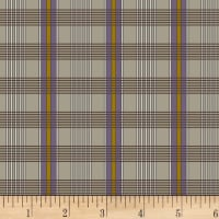 P&B Textiles A Soldier's Quilt Plaid Purple