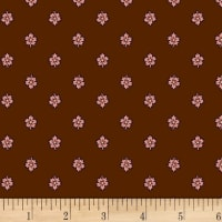 P&B Textiles A Soldier's Quilt Leaf Brown