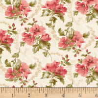 P&B Textiles Amelie French Floral Pink