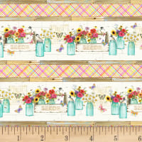 P&B Textiles Fresh Country Border Multi