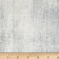 P&B Textiles Harmony With Nature Texture Metallic Silver Grey