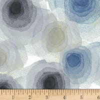 P&B Textiles Harmony With Nature Water Shadows Metallic Multi