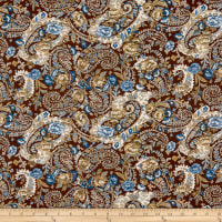 P&B French Paisley Large Paisley Brown