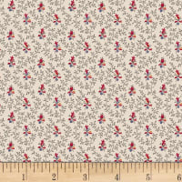 P&B French Paisley Vines & Buds Multi