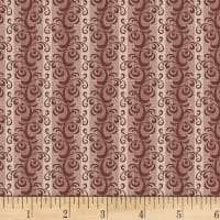 P&B French Paisley Scroll Brown