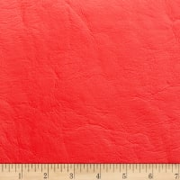 Morgan Fabrics Capitano Faux Leather Classic Red