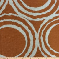 Morgan Fabrics Cirque Chenille Orange