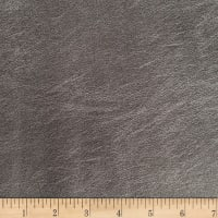 Morgan Fabrics Sizzle II Faux Leather Pewter