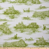 Morgan Fabrics Gondola Lime