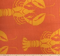 Morgan Fabrics Lobster Ubk Sorbet