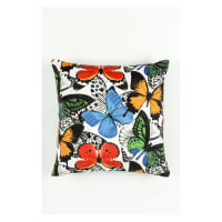 Morgan Fabrics Velvet Monarch Pillow 1
