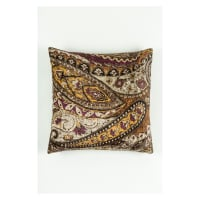 Morgan Fabrics Velvet Paisley Pillow 6