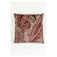 Morgan Fabrics Velvet Paisley Pillow 3