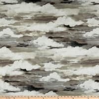 Swavelle Head in The Clouds Barkcloth Thunder