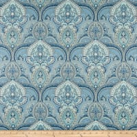 Swavelle Pushang Twill Bluebird