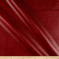 Swavelle Performance Nuvtex Big Bird Faux Leather Paprika