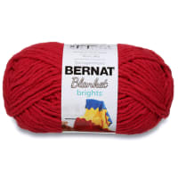 Bernat Blanket Brights Yarn (300g/10.5 oz) Race Car Red