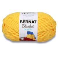 Bernat Blanket Brights Yarn (300g/10.5 oz), School Bus Yellow