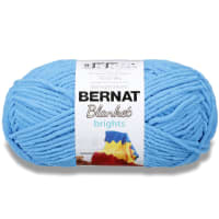 Bernat Blanket Brights Yarn (300g/10.5 oz), Busy Blue