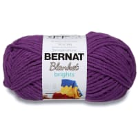 Bernat Blanket Brights Yarn (300g/10.5 oz), Pow Purple