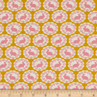 Freespirit Darling Meadow Bunny Mustard