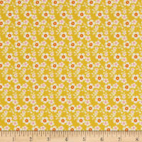 Freespirit Darling Meadow Bitty Mustard