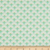 Freespirit Darling Meadow Fans Aqua