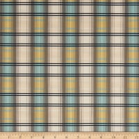 Freespirit Dream Cottage Scotch Plaid Spruce