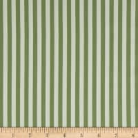 Freespirit Dream Cottage Candy Stripe Moss