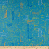 FreeSpirit How Do You Do Sashiko Blue