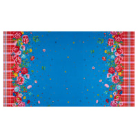 Freespirit Confettis Picnic Border Blue