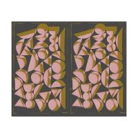 Freespirit Vestige Shapes Rose