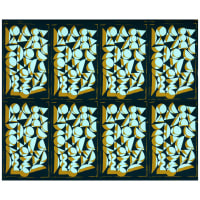 "Freespirit Vestige Shapes 36"" Panel Sea"