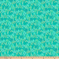 FIGO  Mountain Meadow Meadow Drift Turquoise/Multi